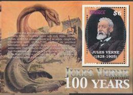Dominique Jules VERNE Voyage Au Centre De La Terre MNH - Persönlichkeiten