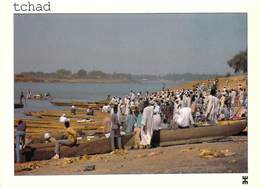 Afrique-TCHAD - N'DJAMENA Préfecture Du Chari-Baguirmi Le CHARI   (pirogues Pirogue) Editions :BWASO *PRIX FIXE - Chad