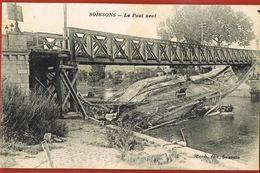 CPA 02- SOISSONS -Le Pont Neuf -Berth Editeur Soissons- Scans Recto Verso- Paypal Sans Frais - Soissons