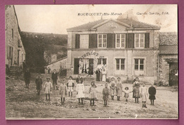 Cpa Rouecourt Animée Enfants - Autres Communes