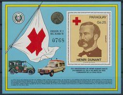 Paraguay 1979 Nobel Red Cross Croix Rouge Henry DUNANT  MNH - Nobelpreisträger