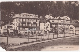 Suisse Vs Champex Les Hotels Angolino Mancante Sx In Basso - VS Valais