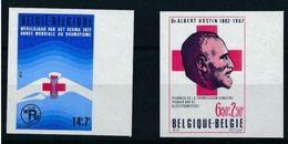 Belgique 1977  Nobel Croix Rouge Red Cross Imperf MNH - Nobelpreisträger