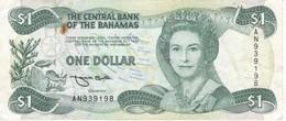 BILLETE DE BAHAMAS DE 1 DOLLAR DEL AÑO 1984  (BANKNOTE) - Bahamas