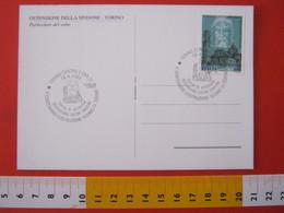 A.13 ITALIA ANNULLO 1998 TORINO OSTENSIONE SACRA SINDONE VOLTO CRISTO 500 ANNI DUOMO CHIESA FDC - Cristianesimo