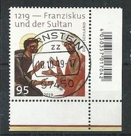 ALEMANIA 2019 - Franziskus Und Der Sultan - Oblitérés