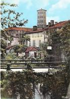 32 - Lombez - Perspective Sur Le Clocher - Vue Prise Du Canal - Autres Communes