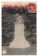 CPA - TOURS 37 Indre Et Loire - Jardin Des Prébendes-d'Oë - Monument De Racan En 1909 - N° GB 190 - Tours