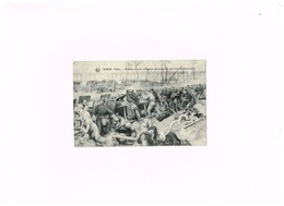 Yser 1914.Echec D'une Attaque Allemande Par Les Carabiniers. - Guerra 1914-18