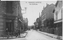Rue Saint Nicolas - Maisons-Laffitte