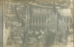 80 AMIENS - BELLE CARTE PHOTO VUE AERIENNE  CATHEDRALE - Amiens