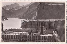 Suisse Vs Bagnes Barrage De Mauvoisin Lavori Di Costruzione Getto Calcestruzzo - VS Valais