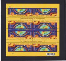 2006- Europa Cept - Ukraine - Ukraina - YKPAIHA - N° YT 715 Et 716** En Feuille 8paires Et Tête Beche - 2006