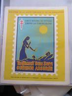 AFFICHE B.C.G. - Signée André SPITZ - CONTRE LA TUBERCULOSE -  Format : 37 X 30 Cm - Posters