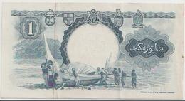 MALAYA & BRITISH BORNEO P. 8A 1 D 1959 XF - Billets