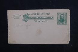 ETATS UNIS - Entier Postal Non Circulé - L 52802 - ...-1900