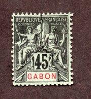 Gabon N°27 N* TB Cote 45 Euros !!! - Ongebruikt