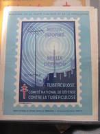 AFFICHE  - Signée André SPITZ - CONTRE LA TUBERCULOSE - MIEUX INFORME MIEUX DEFENDU -   Format : 37 X 30 Cm - Affiches
