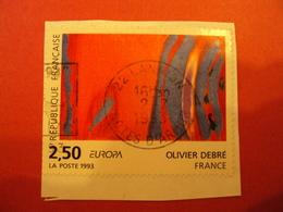 """1990-1999    - Timbre Oblitéré N°   2797 """"peinture, Olivier Debré """" Sur Fragmen    Net  0.80             Photo      1 - France"""