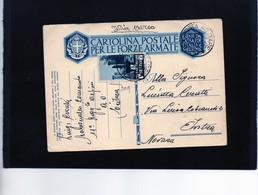CG9 - Italia - Cartolina Postale Con Annullo Posta Militare N. 210 Del 1/4/1936 Dall'Eritrea A.O.I. X Intra - Eritrea