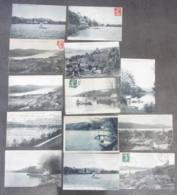 LOT De 13 CPA Sur Le Lac De PALADRU En Isère , Département 38 -  Lire Descriptif - 1 Scan - Paladru