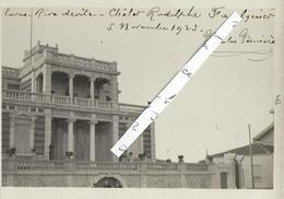 PALAVAS   RARE  Carte Photo  De La Villa Bianca (chalet Faulquier)  Datée - Palavas Les Flots