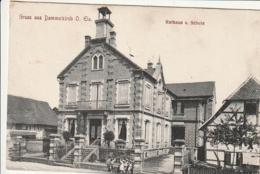 ***  67  ***   DANNEMARIE --  Gruss Aus DAMMERKIRCH Rathaus - Voyagé TTBE - Dannemarie