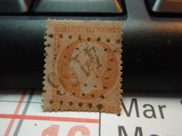Timbre  Napoléon III Empire Franc 40 C Oblitéré - 4166 . - 1862 Napoléon III