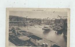 Lyon 9ème Arr (69) : GP D'une Péniche  Transport De Matériel Ferreux Quai De La Gare D'Eau Environ 1930 PF. - Lyon 9