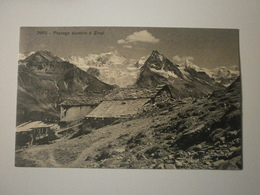 Suisse. Zinal, Paysage Alpestre (8518) - VS Wallis