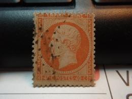 Timbre  Napoléon III Empire Franc 40 C Oblitéré - 1862 Napoléon III