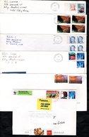 6 Enveloppes Des ETATS-UNIS - Amérique Centrale