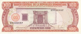 BILLETE DE REP. DOMINICANA DE 100 PESOS ORO DEL AÑO 1988 SIN CIRCULAR - UNCIRCULATED (BANKNOTE) - República Dominicana