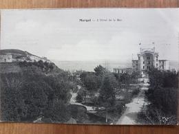 Morgat.L'hôtel De La Mer.carte Publicitaire - Morgat