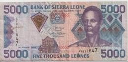 SIERRA LEONE P. 27c 5000 L 2006 VF - Sierra Leone