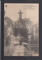 TIENEN-GROT-O.L.V. DER ZEVEN WEEEN-GROTTE-VERSTUURDE KAART 1920-EDIT.G.HERMANS-ANVERS-ZIE DE 2 SCANS! ! ! - Tienen