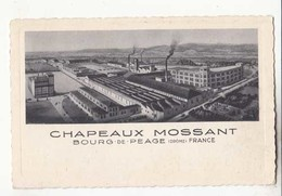 CPA - France 26 - Bourg De Péage - Chapeaux Mossant :  Achat Immédiat - ( Cd028 ) - Sonstige Gemeinden