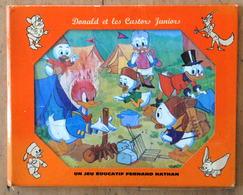 Donald Et Les Castors Juniors - Puzzle Walt Disney Un Jeu éducatif FERNAND-NATHAN - W D 2 1972 - Jouets Anciens