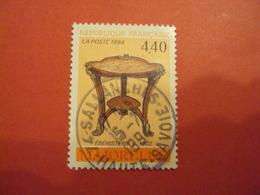 """1990-1999    - Timbre Oblitéré N° 2856    """"  ébénisterie Majorelle      """"     Net   0.50 - France"""