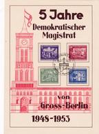 DDR, 5 Jahre Demokratischer Magistrat (KA 143) - Gebraucht