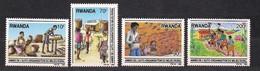 Rwanda Ruanda 1989 OCBn° 1352-1355 *** MNH Cote 10,50 Euro - 1980-89: Nuevos