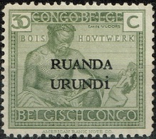 Ruanda-Urundi - 1925 - Y&T N° 63 (*), Neuf Sans Gomme - Ruanda-Urundi