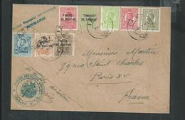 Roumanie. Enveloppe De La Mission Française Aéronautique - Lettres & Documents