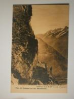Suisse. Vieille Cabane Dans Le Cervin / The Old Cabane On The Matterhorn (8522) - VS Valais
