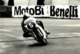 BENELLI  +-18cm X 12cm Moto MOTOCROSS MOTORCYCLE Douglas J Jackson Archive Of Motorcycles - Otros