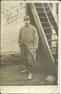 ( CARTE PHOTO ) (MILITAIRES   )( GUERRE   ) 1915 - Oorlog, Militair
