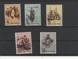 Chine Oblitéré Numérotation Michel - 616 A 620 - Used Stamps