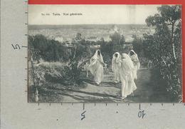 CARTOLINA VG TUNISIA - TUNIS - Vue Generale - Lehnert & Landrock - 9 X 14 - 1909 PER LA FRANCIA - Tunisia
