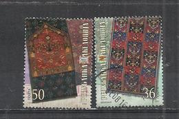 NORTH MACEDONIA 2004 - TRADITIONAL HAND WORKS - CPL. SET - POSTALLY USED OBLITERE GESTEMPELT USADO - Macedonia