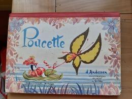 POUCETTE D'ANDERSEN  Illustrations En Relief De GILDAS    Editions LUCOS  MULHOUSE - Editions Originales (langue Française)
